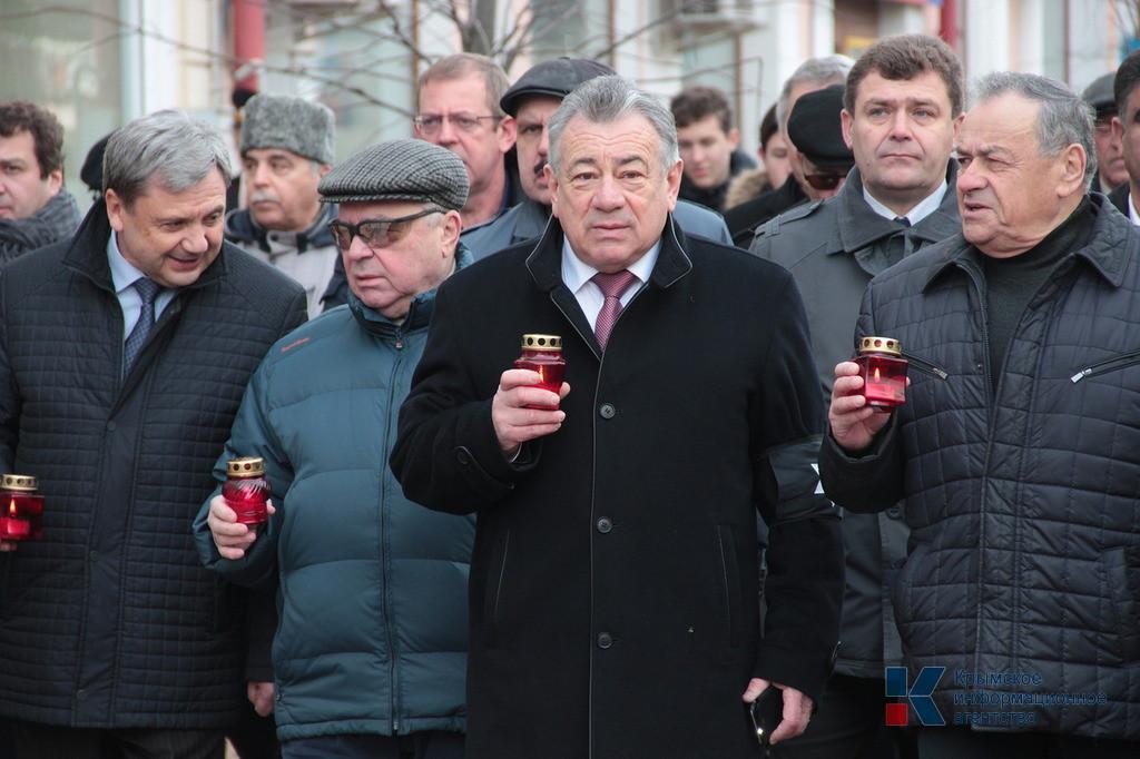 Вячеслав Зарубин принял участие в траурном шествии «Марш живых»